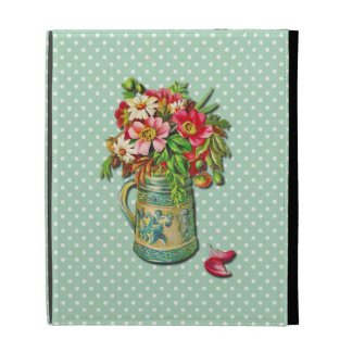 Vintage Bouquet iPad Folio Covers