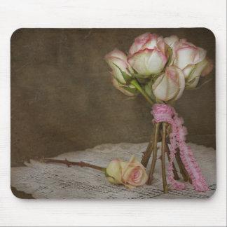 Vintage Bouquet Mouse Pad
