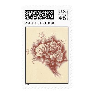 Vintage Bouquet Stamps