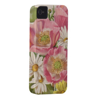 Vintage Bouquet with Daisies iPhone 4 Covers