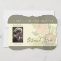 Vintage Bouquet with frame Sympathy Thank You I