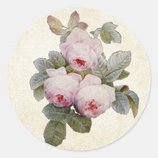 Vintage Bourbon Rose Envelope Seal