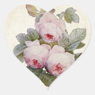 Vintage Bourbon Rose Envelope Seal Bouquet