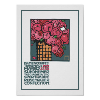 Vintage Boutique Roses Poster