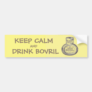 VINTAGE BOVRIL ADVERT, Circa 1895 - Bumper sticker