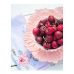 Vintage Bowl of Cherries Flyer