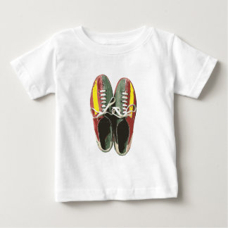 Vintage Bowling Shoes Retro Bowling Shoe Baby T-Shirt