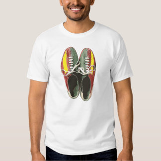 Vintage Bowling Shoes Retro Bowling Shoe Shirt