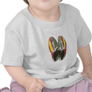 Vintage Bowling Shoes Retro Bowling Shoe T-shirts
