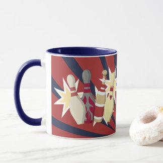 Vintage Bowling Themed Mug