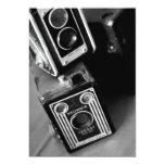 Vintage Box Cameras 5x7 Paper Invitation Card