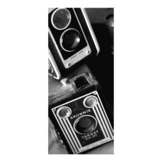 Vintage Box Cameras Rack Card