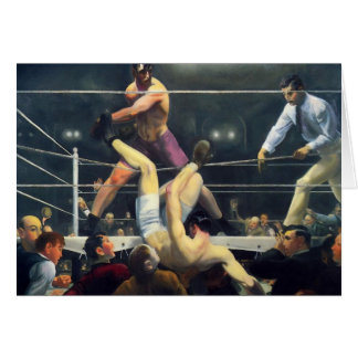 Vintage Boxing from 1924 Note Cards