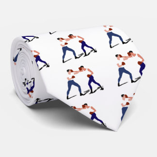 vintage boxing gifts neck tie