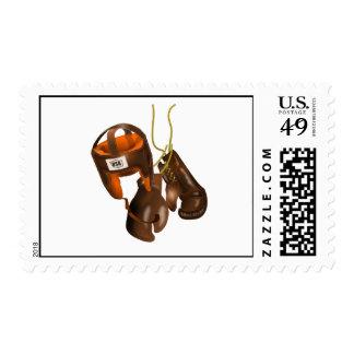 Vintage Boxing Gloves and Helmet Postage