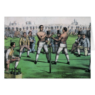 Vintage Boxing; Great Fight for the Championship Card
