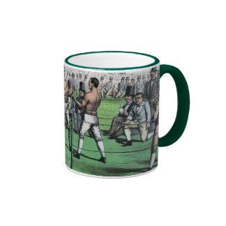 Vintage Boxing; Great Fight for the Championship Ringer Mug