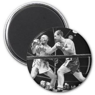 Vintage Boxing Magnet