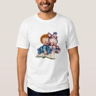 Vintage Boy and Bunny EDUN LIVE Lamb Toddler Shirt