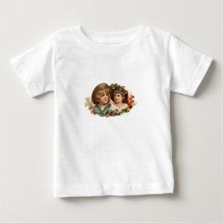 Vintage Boy and Girl Infant Shirt