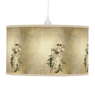 Vintage Boy Pendant Lamp