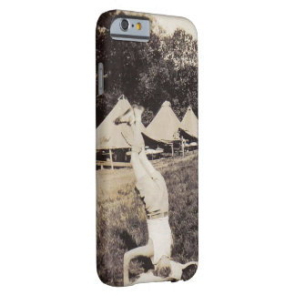Vintage Boy Scout Hand Stand Barely There iPhone 6 Case