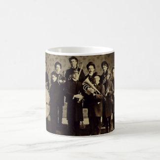Vintage Boys Brass Band Warsaw Indiana Coffee Mug