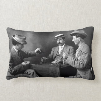 Vintage Boys Night Out Lumbar Pillow