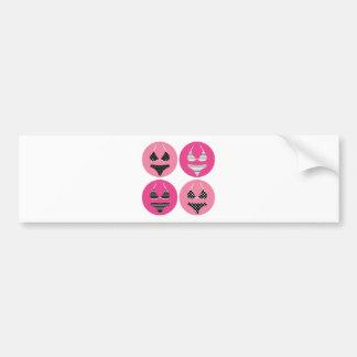 Vintage bra : Creative t-shirts Bumper Sticker