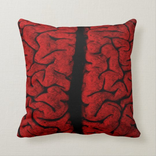 Vintage Brain American MoJo Pillow