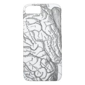Vintage Brain Anatomy iPhone 8/7 Case