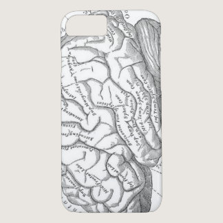 Vintage Brain Anatomy iPhone 8/7 Case