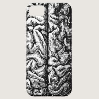 VINTAGE BRAIN DRAWING iPhone SE/5/5s CASE