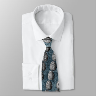 VINTAGE BRAIN DRAWING TIE