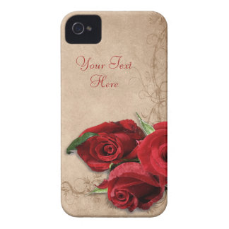 Vintage Brandy Rose iPhone 4 Covers