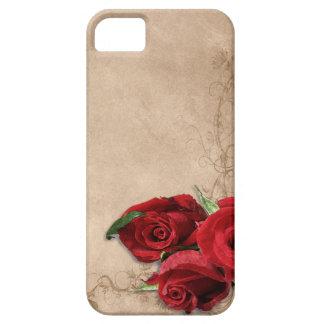 Vintage Brandy Rose iPhone 5 Case