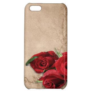 Vintage Brandy Rose iPhone 5C Case