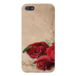 Vintage Brandy Rose iPhone 5 Cases