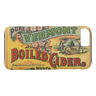 Vintage Brattleboro Jelly Boiled Cider Vermont iPhone 8/7 Case