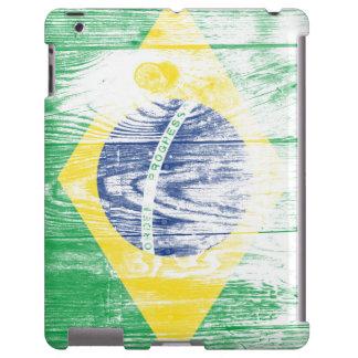 Vintage Brazil Flag Nacional iPad Case lasas Funda Para iPad