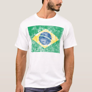 Vintage Brazil Flag T-Shirt