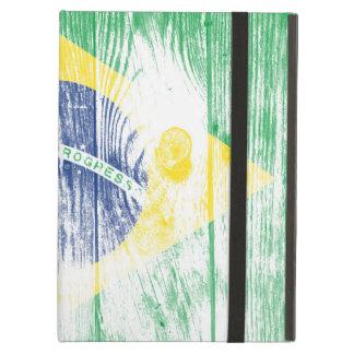 Vintage Brazil national flag iPad air Case