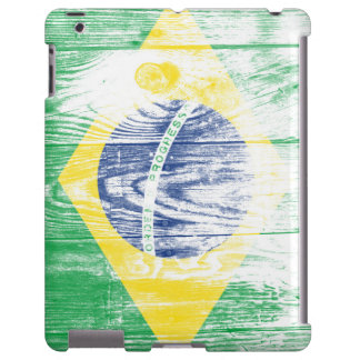 Vintage Brazil national flag iPad matte Case