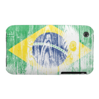 Vintage Brazil national flag White iPhone 3G Case iPhone 3 Case-Mate Case