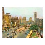 Vintage Brazil, Sao Paulo city centre Postcards