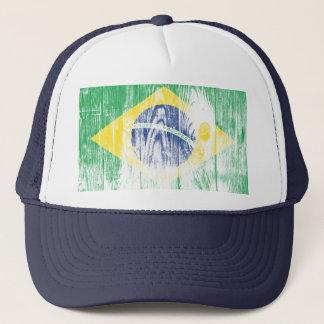 Vintage Brazilien national flag Cap