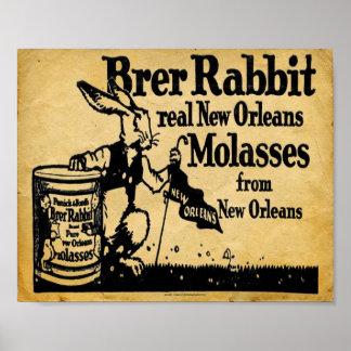 Vintage Brer Rabbit Molasses New Orleans Print
