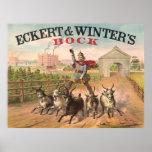 Vintage Brewery Ad 1871 Posters