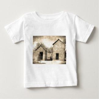 Vintage Brick Homestead Buildings Baby T-Shirt