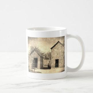 Vintage Brick Homestead Buildings Coffee Mug